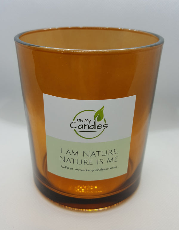 100% Soy Candle - Amber Jar