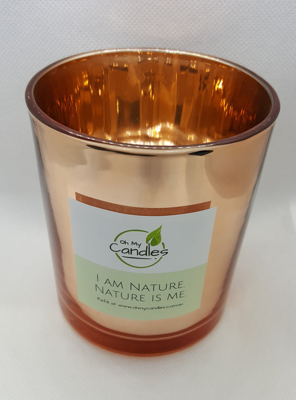 100% Soy Candle - Rose Gold Jar