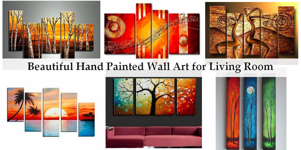 Beautiful Acrylic Paintings for Living Room, Modern Paintings for Living Room, Abstract Wall Art Paintings