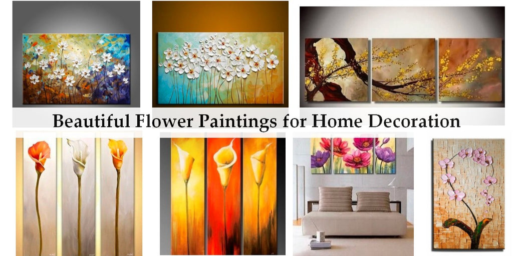 Beautiful Flower Paintings, Abstract Flower Painting, Acrylic Flower Painting, Texture Paintings