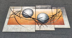 Painting Samples of Acrylic Abstract Paintings, Abstract Painting on Canvas, Contemporary Abstract Paintings