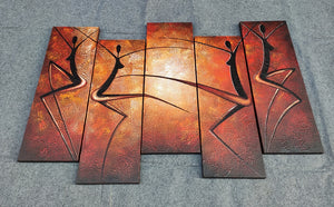 Painting Samples of Abstract Paintings, Hand Painted Canvas Painting, Wall Art for Living Room