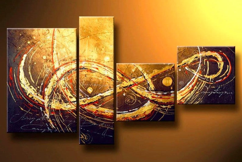 Extra Large Painting, Abstract Art Painting, Dining Room Wall Art, Painting for Sale