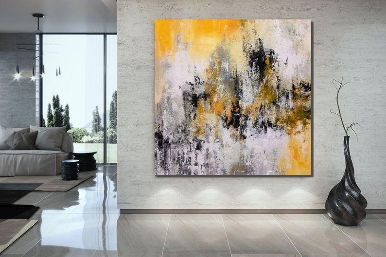 Large Paintings for Bedroom, Living Room Acrylic Painting, Contemporary Painting, Modern Art, Large Canvas Painting - LargePantingArt.com