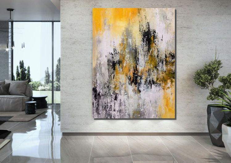 Extra Large Wall Art Painting, Canvas Painting for Living Room, Modern Contemporary Abstract Artwork - LargePantingArt.com