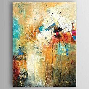 Kitchen Wall Art, Canvas Painting, Heavy Texture Painting, Abstract Wall Art, Canvas Wall Art - LargePantingArt.com
