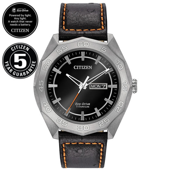 Citizen Eco-Drive Gents Super Titanium AW0060-03E