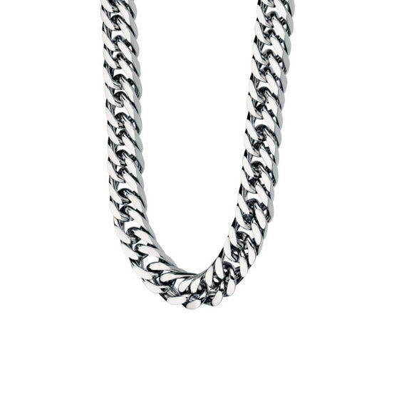 Fred Bennett Stainless Steel Curb Necklace