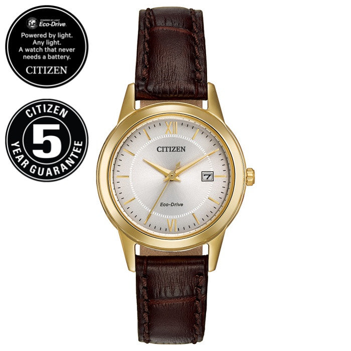 Citizen Eco-Drive Ladies Watch FE1082-05A - Macrow and Son 8ada91c97