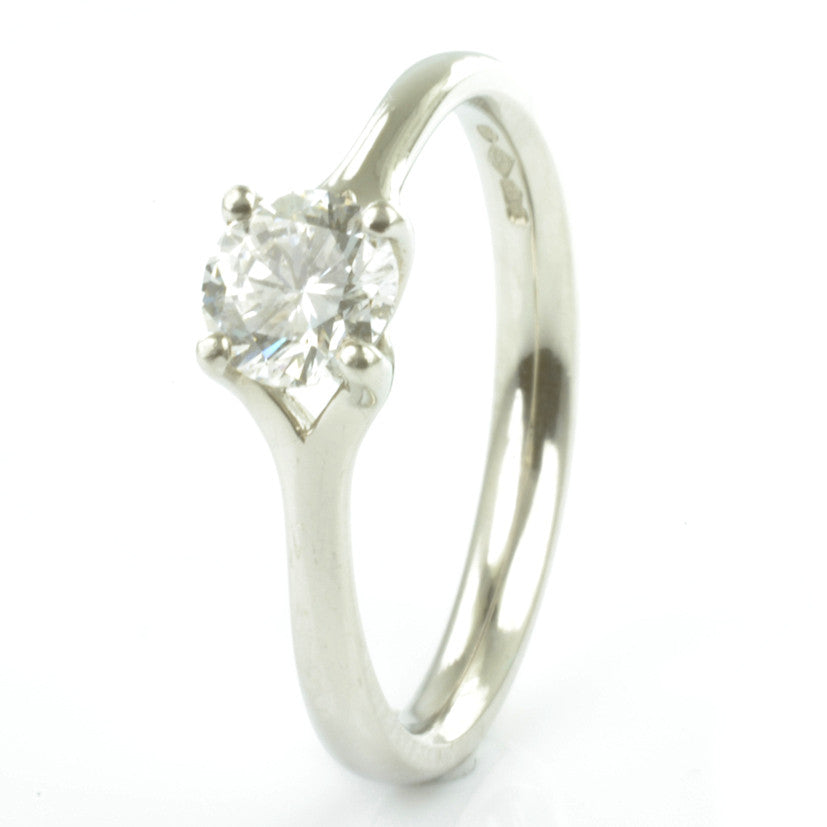 Platinum Certificated Diamond Solitaire