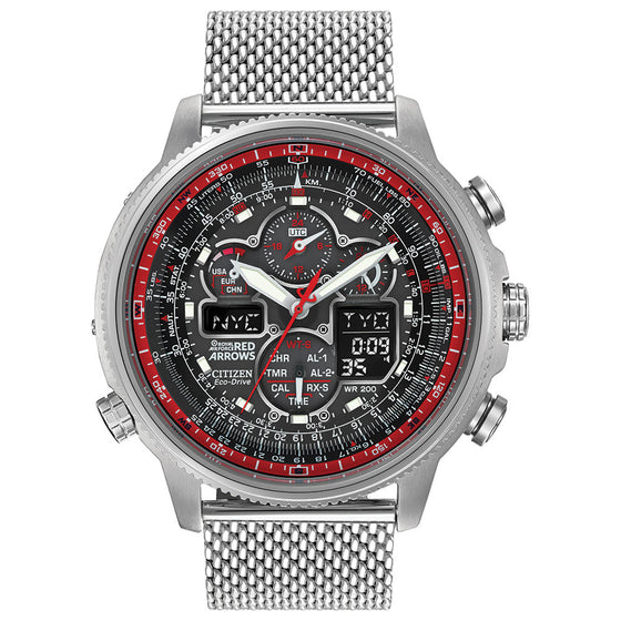Citizen Eco-Drive Gents Red Arrows Limited Edition Navihawk A.T