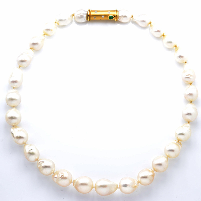 Handmade South Sea Cultured Pearls