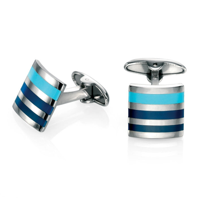 Fred Bennett Stainless Steel Cufflinks