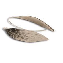 Load image into Gallery viewer, Melaleuca Silver Leaf Earrings
