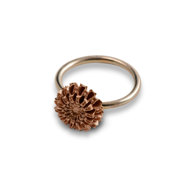 Samara rose gold ring