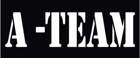 A-TEAM HELMET DECAL