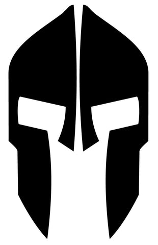 SPARTAN REAR HELMET REFLECTIVE HELMET DECAL