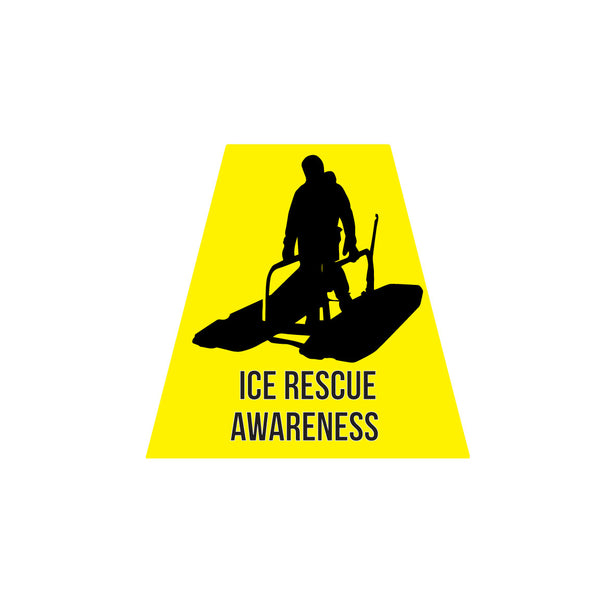 ICE RESCUE AWARENESS REFLECTIVE HELMET (TET) TETRAHEDRON