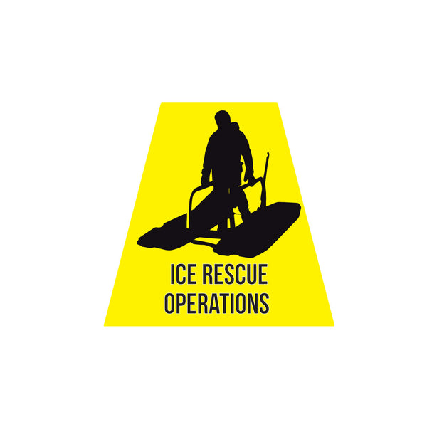 ICE RESCUE OPERATIONS REFLECTIVE HELMET (TET) TETRAHEDRON