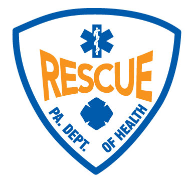 PENNSYLVANIA (PA) RESCUE CERTIFIED HELMET DECAL