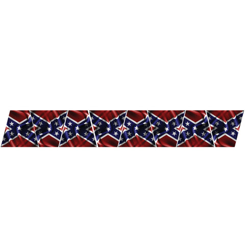 REBEL FLAG REFLECTIVE HELMET (TET) TETRAHEDRON 8 PACK