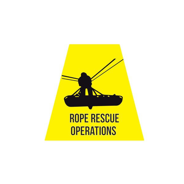 ROPE RESCUE OPERATIONS REFLECTIVE HELMET (TET) TETRAHEDRON