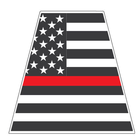 THIN RED LINE AMERICAN FLAG REFLECTIVE HELMET (TET) TETRAHEDRON