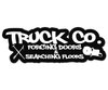 TRUCK COMPANY FORCING DOORS & SEARCHING FLOORS HELMET DECAL