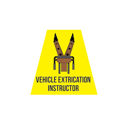 VEHICLE EXTRICATION INSTRUCTOR REFLECTIVE HELMET (TET) TETRAHEDRON
