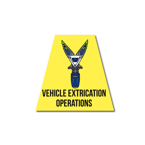 VEHICLE EXTRICATION OPERATIONS REFLECTIVE HELMET (TET) TETRAHEDRON