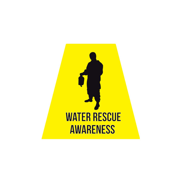 WATER RESCUE AWARENESS REFLECTIVE HELMET (TET) TETRAHEDRON