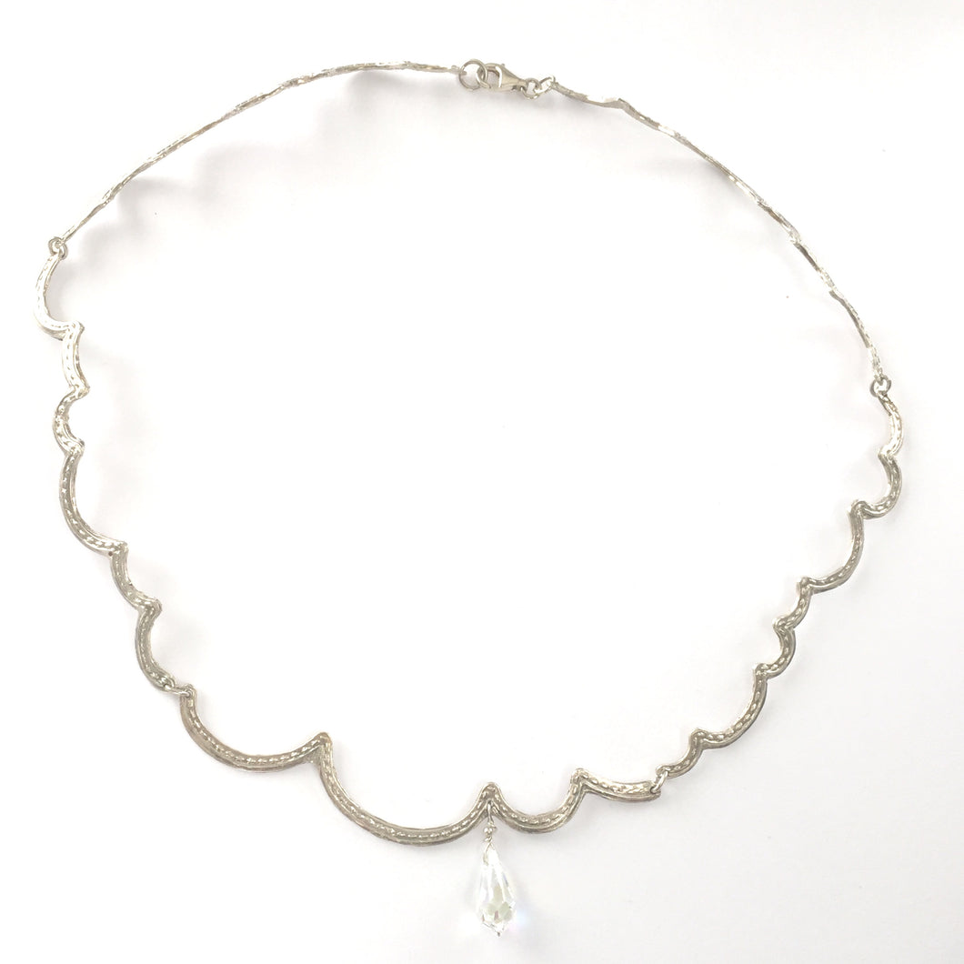 Ketting 'Silver Waves'