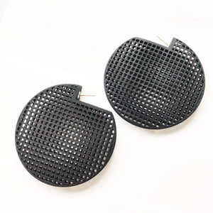 Soto Statement Disc Earrings