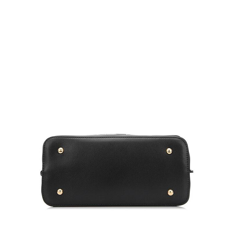 Tricolor Flap Shoulder Bag