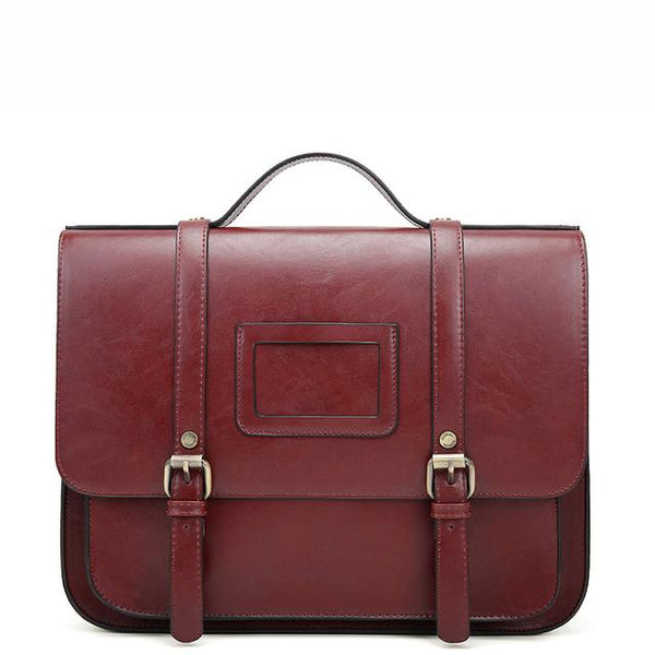 Classic Flap Boutique Messenger Bag - Wine Red (Limited Edition)