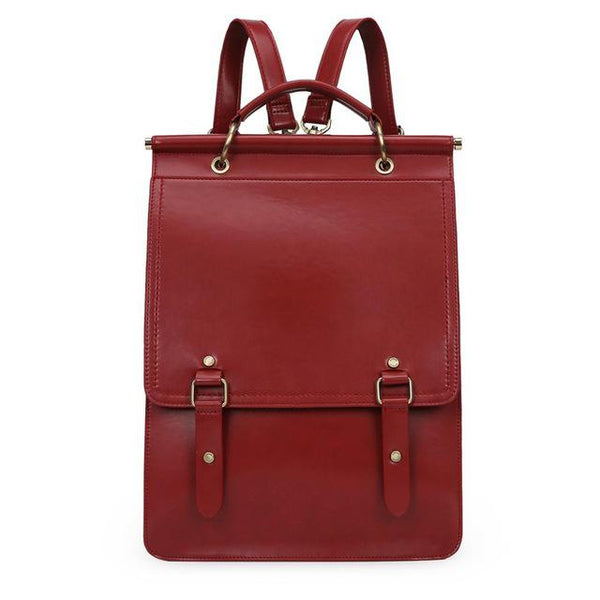 Ring Flap Boutique Backpack - Red (Limited Edition)