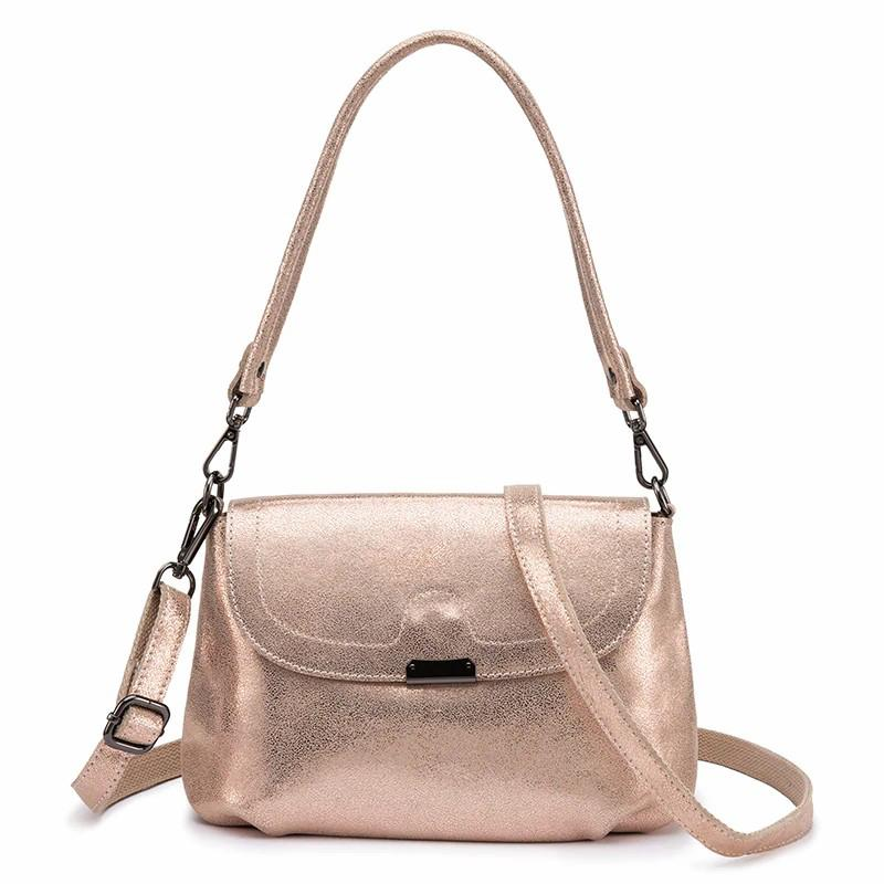 Glint Leather Shoulder Bag