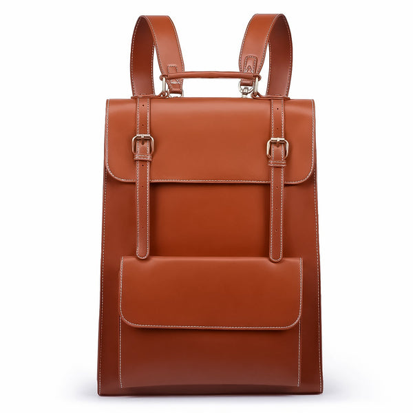 Threaded Flap Boutique Backpack - Brown (Limited Edition)