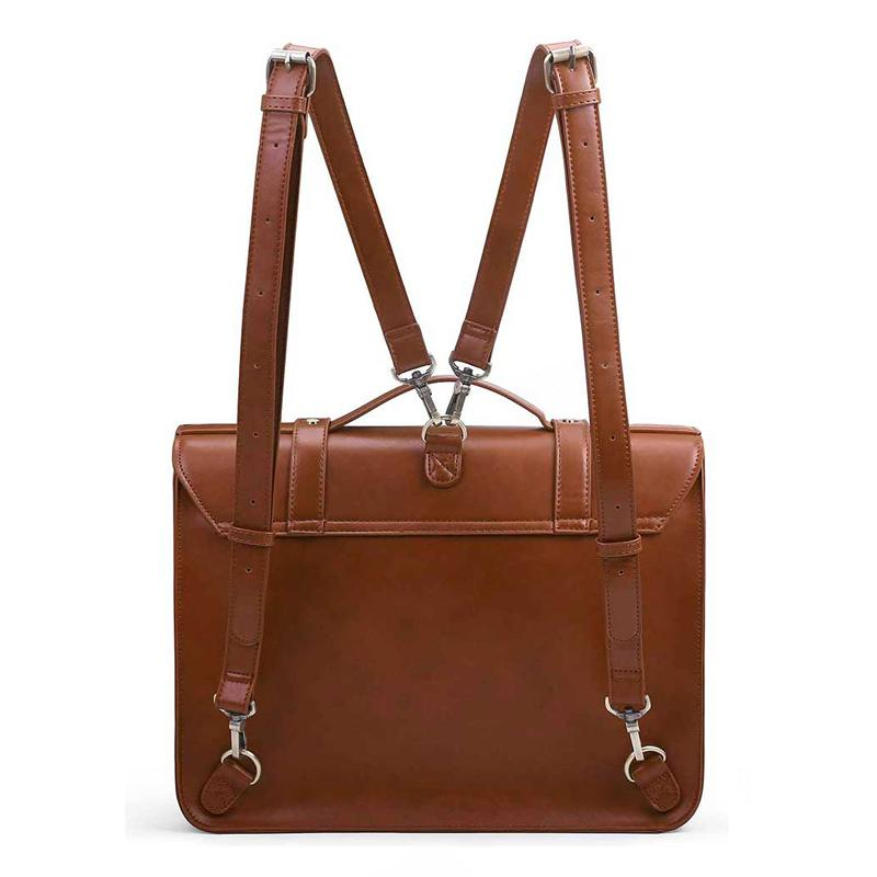 Buckled Flap Boutique Messenger Bag