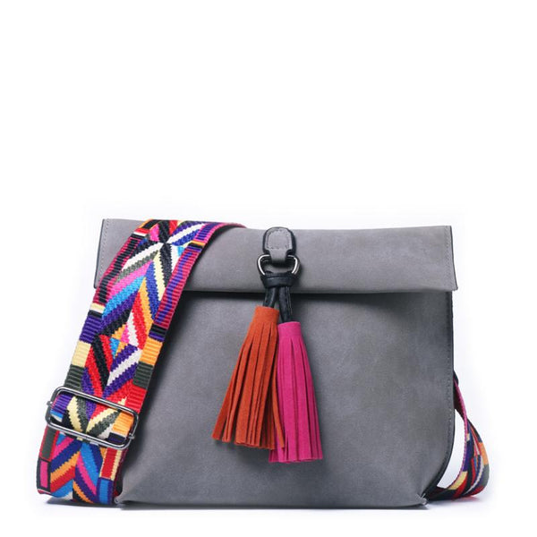 Multi-Color Strap Bag