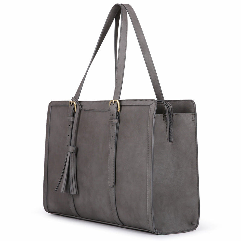 9 to 9 Tassel Tote - Grey (Limited Edition)