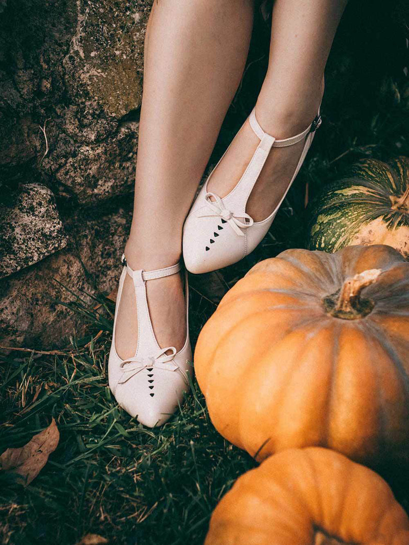 Pointed Toe Vintage Shoes