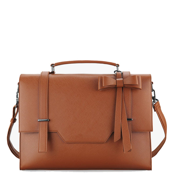 Flap With Bow Boutique Messenger Bag