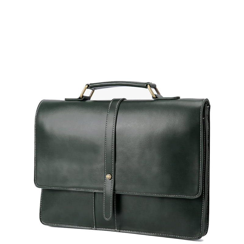 Ultra-Slim Vintage Briefcase