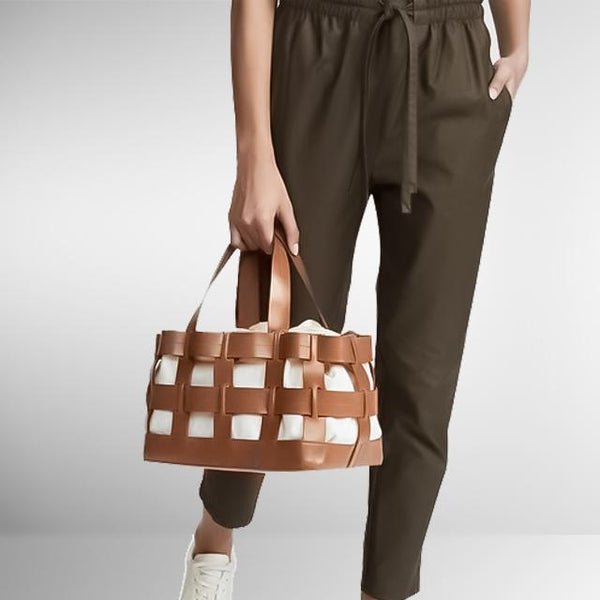 Knotted Caged Summer Tote