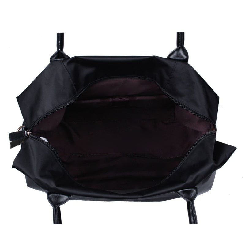 Nylon Duffle Bag In Trolly Handle