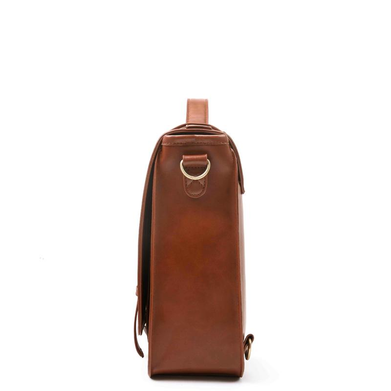 Detachable Bow Boutique Messenger Bag - Brown (Limited Edition)