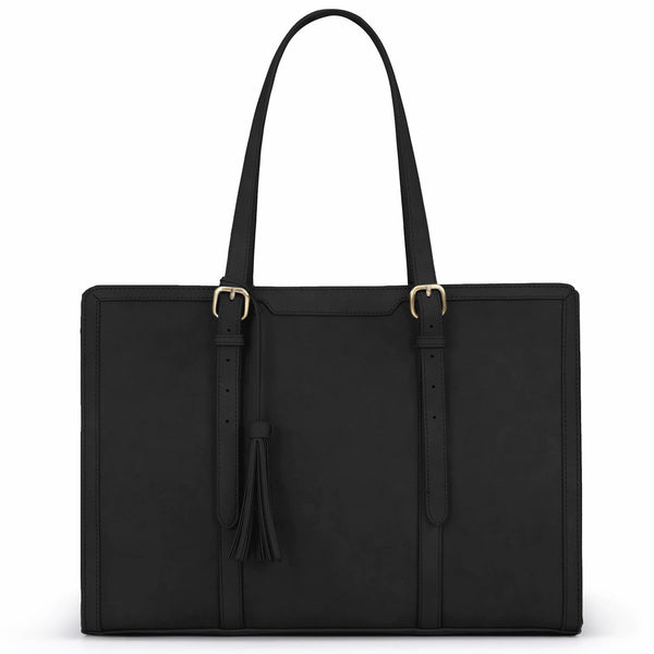 9 to 9 Tassel Tote - Black (Limited Edition)