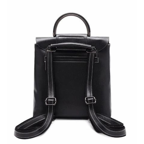 Top Handle With Flap Backpack