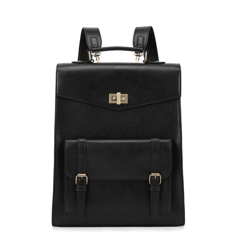 Double Flap Boutique Backpack